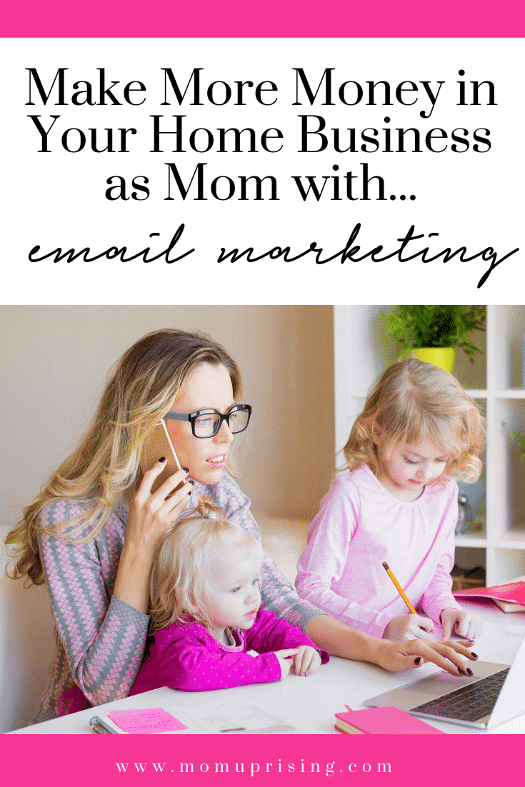 Make more money in your home-based business as a mompreneur with email marketing. This podcast shares tips on how to use email marketing to grow your online business and send emails people actually want to open. Must-know tips for work at home moms and stay at home mom entrepreneurs.