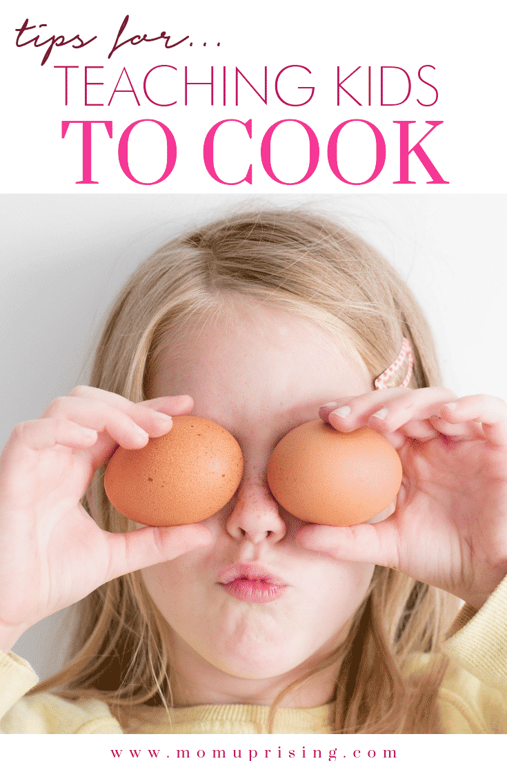 Teaching kids to cook has a ton of benefits for parents and kids. While it may seem daunting at first to let your take on the responsibility of helping prepare meals, it is totally doable.