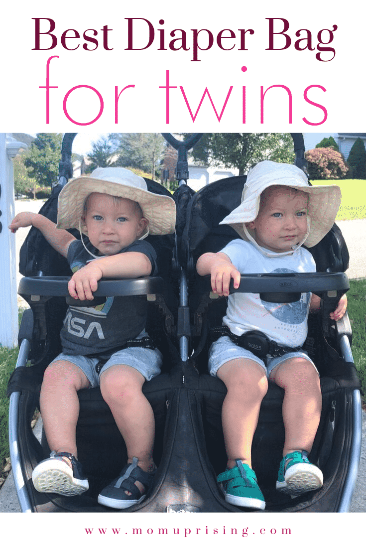 Best Diaper Bag for Twins from Real Twin Parents