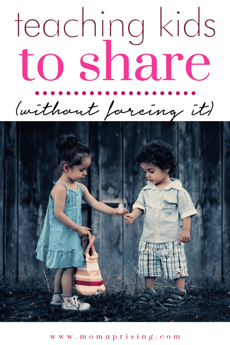 Sharing is caring, but it is always best to force kids to share when teaching kids to share? Here\'s why I don\'t *always* make my kids share. #momlife #parenting #sharing