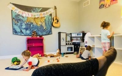 Peek Inside Our Montessori Style Playroom