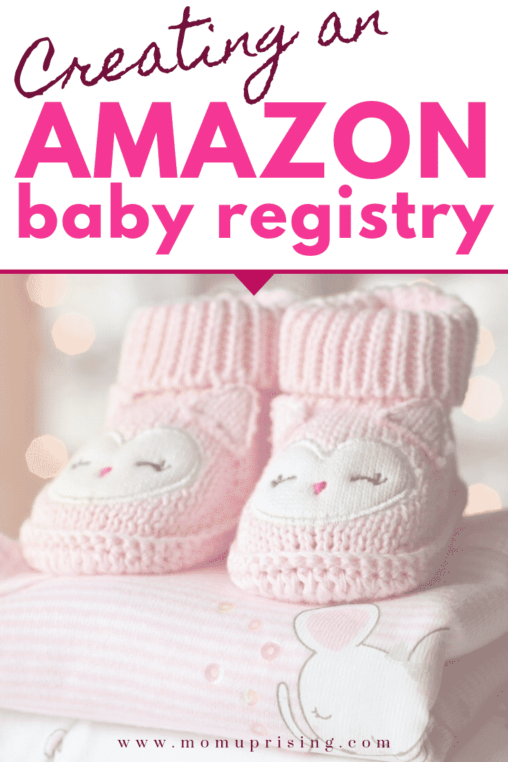 Creating a Baby Registry on Amazon