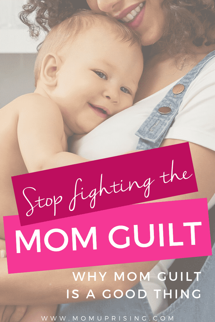 Is mom guilt a good thing to help us learn how to be a better mom? What if instead of fighting it, we could embrace the mom guilt and not let the mom-shaming get to us. It sounds hard to do, and maybe it is, but let\'s talk about how mom guilt could be helpful for us to be a better mom and use it for personal growth? #momguilt #momshame #momlife #parenting #motherhood #beingamom