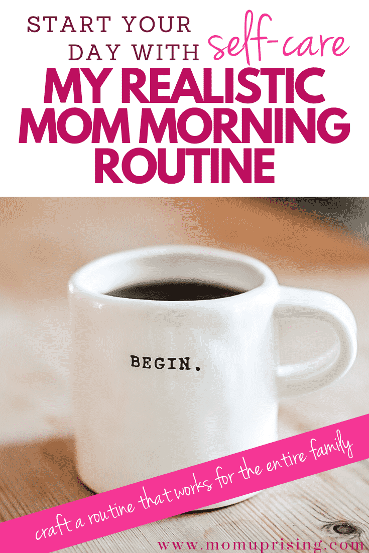 My Mom Morning Routine with 3 Kids Under 5