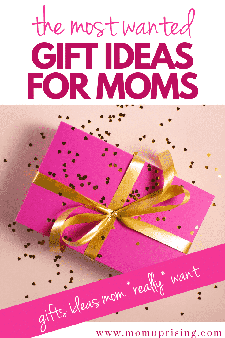 Finally, gift ideas for moms who say they don\'t want anything! We asked over 5,000 moms if they had a genie what their three wishes would be... and here is what they were. Plus, how you can actually make them happen! Get the best ideas for presents for mom here, and know she will use and love them! #motherhood #giftguide #christmasgiftformom #mothersdaygift