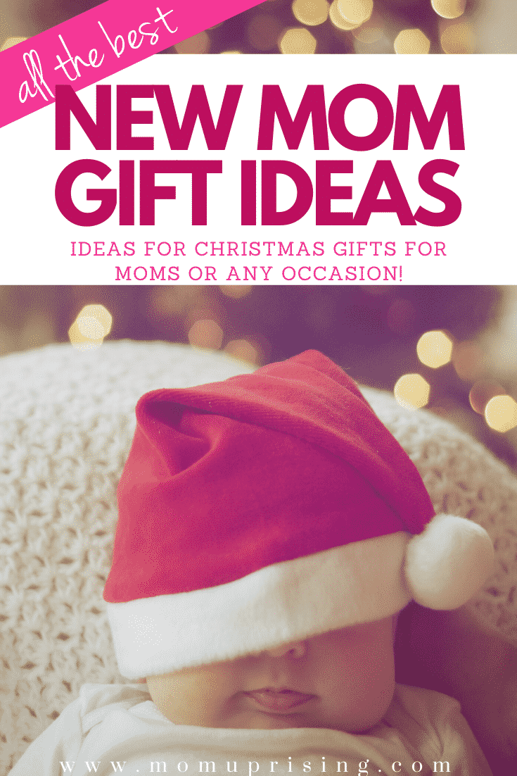 Looking for new mom gifts ideas? These are 15 of the BEST gift ideas for moms, and especially Christmas gifts for moms. Get her items that will make her feel comforted and cared for as a new mom. It\'s so important moms feel supported when they are first time moms. It\'s such a hectic time! These holiday gift ideas or ideas for a postpartum basket are perfection. #momlife #motherhood #postpartum #giftideas #christmasgiftideas
