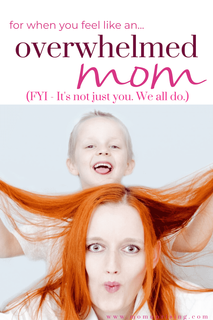 Feeling like a stressed-out overwhelmed mom? The pressures and stresses of motherhood are pretty intense. These tips and stories will help you get over the stress and overwhelm and know that it isn\'t just you. We are all struggling with this momlife. #momstruggles #momlifetruths #motherhood #overwhelmedmom #overwhelmed #stressedmom
